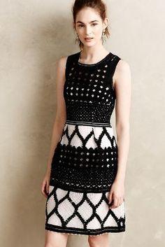 Yoana Baraschi Rona Basketweave Dress #anthrofave
