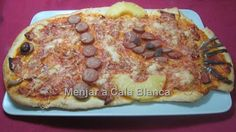Pizzas infantiles - Pez abisal ;-) Pizzas for kids