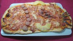 Pizzas infantiles - Pez abisal ;-) Pizzas for kids