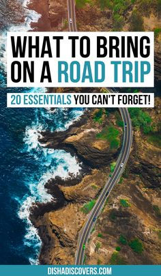 Road Trip Packing List: 20 Things You Shouldn't Travel Without | road trip essentials | road trip packing list | summer road trip packing list | things to bring on a road trip packing lists | cross country road trip packing list | what to take on a road trip packing lists | things to take on a road trip packing lists | what to bring on a road trip packing lists | long road trip packing list | road trip essentials list #roadtrip #roadtrippackinglist #roadtripessentials