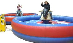 mechanical bull rental for next year's cinco de mayo party. if you know me, you know im serious! Moon Bounce, Inflatable Rentals, Mechanical Bull, Camp Hill, Grad Parties, Sweet 16, Things That Bounce, Birthday Ideas, Party Ideas