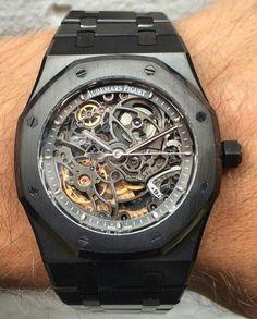 (5) Custom Audemars Piguet from Titan Black | Gentleman's Watches | Pinte…