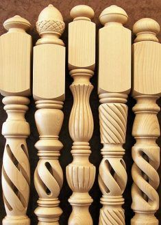 Wood Turning Projects, Wood Projects, Woodworking Projects, Stairs Balusters, Wood Stairs, Cnc, Wooden Door Design, Wooden Doors, Wood Furniture Legs