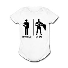 FUNNY BABY ONESIES Cute Unique and Cool Babysuit by CoolTeeShirts, $14.99