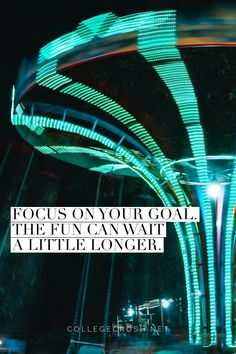 Focus on your goal. The fun can wait a little longer. | goal quote | fun quote | focus quote | freshman tips | college life quote | truth quote | success quote | via collegecrush.net Focus Quotes, Goal Quotes, Truth Quotes, Success Quotes, Best Quotes, College Life Quotes, Freshman Tips, Focus On Your Goals, Fun