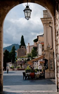 Taormina is one of the loveliest cities in Sicily. It has a very distinct greek feel from its history as a Greek city.