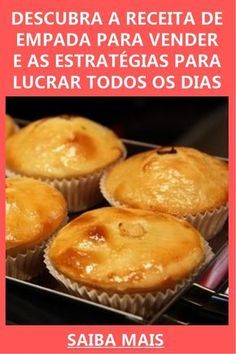 Portuguese Recipes, Love Eat, Finger Foods, Food Videos, Quiche, Catering, Muffin, Food And Drink, Appetizers