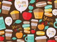 "Pattern ""Yum-Yum"""