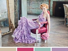 Gorgeous shot and colors! Found via lovelyclusters.blogspot.com. Image via Style Me Pretty.