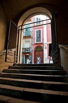 Portico Sant'Antonio, Cagliari, Sardinia, Italy