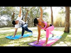 Beginners Yoga Workout for Men & Women: Flexibility, Strength, Total Body Stretches at Home Exercise - YouTube