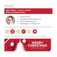 Fiverr freelancer will provide Web Programming services and create two responsive HTML email signature including Responsive Design within 2 days Html Email Signature, Christmas Graphic Design, Merry Christmas Happy Holidays, Email Signatures, Create, Recipes, Rezepte, Ripped Recipes