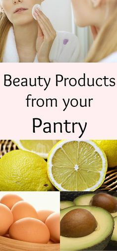 Save money by using ingredients from your pantry to make your own natural beauty products.