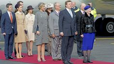 Danish Royal family welcome King Willem-Alexander I and Queen Maxima of the Netherlands 3/16/2015