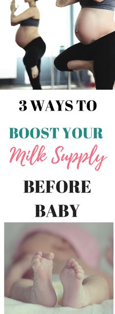 I've learned that you can give your milk supply a good boost before your baby actually arrives! I did these three steps with my last two babies, and it definitely helped!