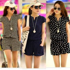 Details about Sexy Women Jumpsuit Loose Romper Summer Clothes Beach Party Dress Shorts Outfit NEW Fashion Womens Girls Sexy Short Sleeve Pants Jumpsuit Casual Romper Shorts - Jumpsuits and Romper Dress Shorts Outfit, Sexy Shorts, Short Shorts, Short Outfits, Summer Outfits, Short Dresses, Summer Clothes, Outfit Essentials, Casual Wear