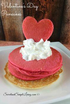 Valentine's Day Breakfast Idea