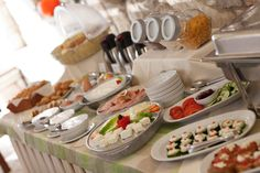 Buffet in Grekis Hotel