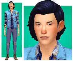 sim request hiro ao for always either buried in a book o - Modern Sims 4 Cc Packs, Sims 4 Mm Cc, Sims Four, My Sims, Tumblr Sims 4, Sims 4 Characters, Elle Kennedy, Sims 4 Cc Finds, Sims 4 Mods