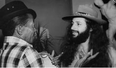 Jackson do Pandeiro e Alceu Valenca, admiracao mutua no Projeto Pixinguinha de 1978