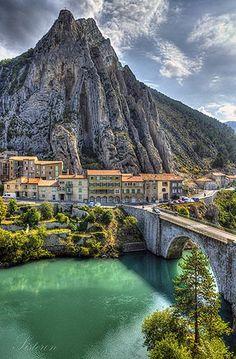 Sisteron, Provence, France