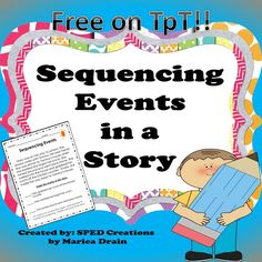 Sequencing events in a story