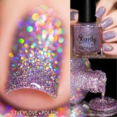 Starrily: 'Menchie The Cat ... a holographic nail polish ... a must-have for all the #holosexual polish-lovers out there!