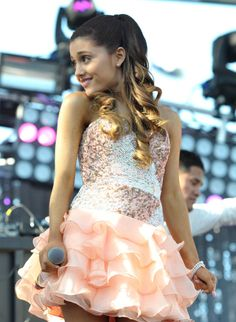 Ariana Grande Out and About!Ariana performs at Wango Tango 2013 at the Home Depot Center. Photo: AP