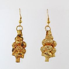 A Pair Roman Grape Cluster earrings, ca. 1st century BC/AD