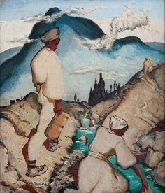 m.benka - Hledat Googlem Bratislava, Graphic Art, Illustration Art, Tapestry, Gallery, Artist, Painting, 1930s, Pocket