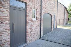 Sleutel-op-de-deur nieuwbouw woning. Halfopen bebouwing. Ietwat landelijkere stijl. Fotografie: www.kingsberry.be