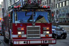 Chicago Fire Dept Truck-3