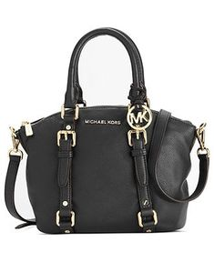 MICHAEL Micheal Kors Handbag, Bedford Small Satchel - Shop All - Handbags & Accessories - Macy's - #womensfashion, #clothing, #women