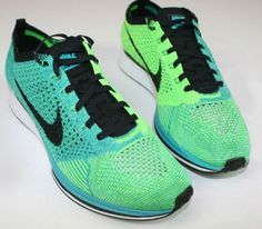 #Running #Shoes - Nike Flyknit Racer-Turquoise-Lucid Green (Summer 2014)