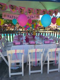 Monkey Magic Nelspruit - disney princess magic. What would be a better party idea for a little girl than a #Disney theme? | #Kids