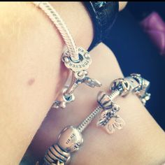 Pandora Butterfly Friendship Charm