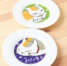 Natsume's Book of Friends Nyanko-Sensei Picture Plate