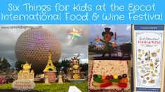 Although there are delicious food and beverage options for adults, here are six things for kids at the Epcot International Food and Wine Festival to enjoy Disney World Theme Parks, Disney World Vacation, Disney Cruise Line, Disney World Resorts, Disney Vacations, Candy Sushi, Wine And Food Festival, Disney Destinations, How To Make Sushi
