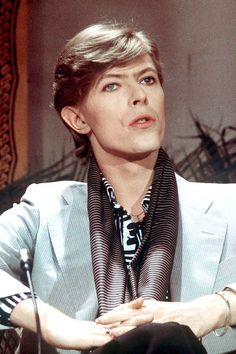 David Bowie, Paris 1977, by Christian Simonpietri