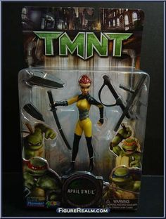 April ONeil from Teenage Mutant Ninja Turtles - 2007 Movie manufactured by Playmates [Front]