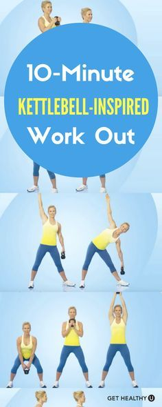 Check out our quick but effective 10-minute kettlebell-inspired workout! On days…