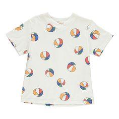 T-Shirt Beach Ball aus Bio-Baumwolle -product