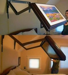 Fancy   Extended Flip Out TV Wall Mount.