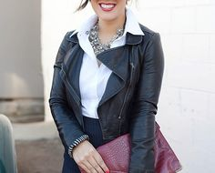 Fashion Essentials: White Button-Down Shirt #theeverygirl