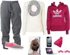 """""""Chilling outfit"""" by style-413 ❤ liked on Polyvore"""