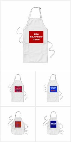 A collection of barbeque chef aprons with very funny text.and quotes.Cute art aprons for children and early learning sums design on aprons Funny Sayings, Early Learning, Aprons, Special Occasion, Collections, Mugs, Words, Design, Products