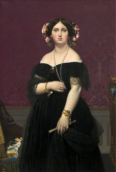 Jean-Auguste-Dominique Ingres - Madame Muatesse