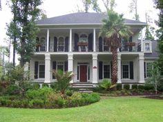 beautiful Southern mansion