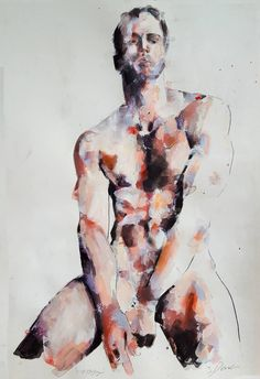 View thomas donaldson's Artwork on Saatchi Art. Find art for sale at great prices from artists including Paintings, Photography, Sculpture, and Prints by Top Emerging Artists like thomas donaldson. Abstract Portrait Painting, Figure Painting, Body Painting, Masculine Art, Male Body Art, Arte Sketchbook, Queer Art, Art Of Man, Life Drawing