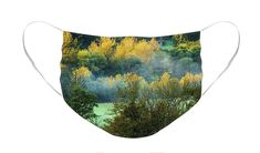 Autumn morning in Slovenia Face Mask by Robert Grac. The face mask is machine washable. All face masks are available for worldwide shipping and include a money-back guarantee. Lake Bled, Autumn Morning, Hans Christian, Masks For Sale, Slovenia, Basic Colors, Mask Design, Colorful Backgrounds, Face Masks
